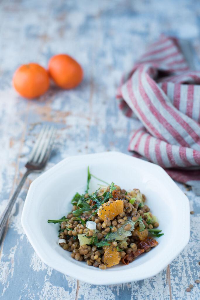 Insalata di lenticchie ricetta facile