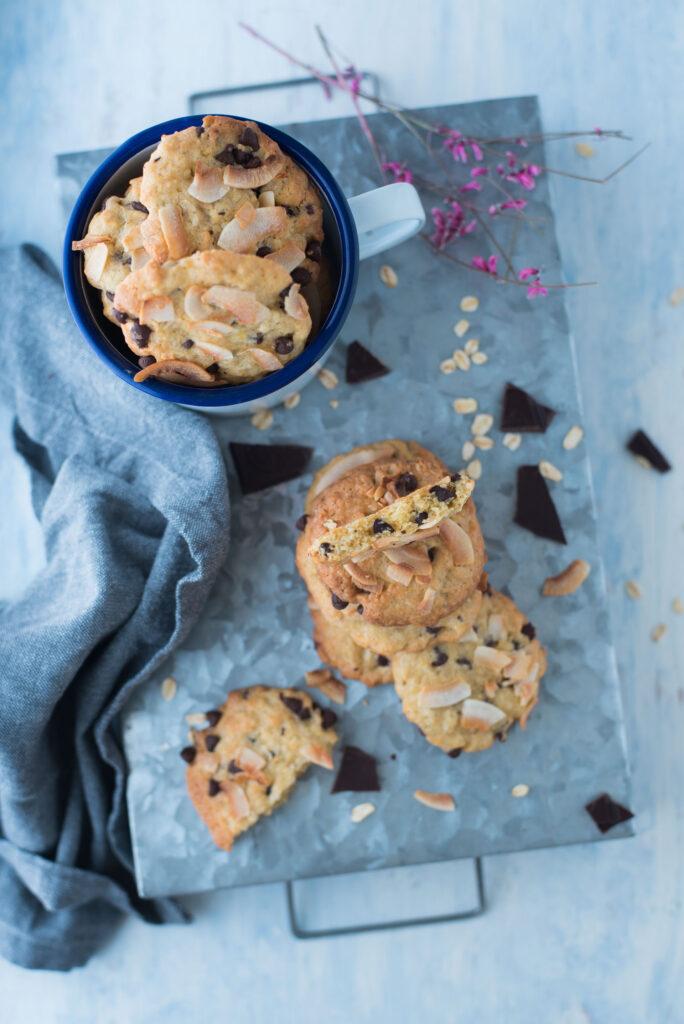 Cookies senza burro ricetta