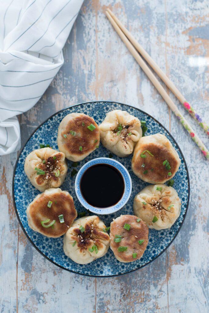 Panini cinesi cotti in padella