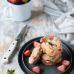 Cheesecake cookies alle fragole