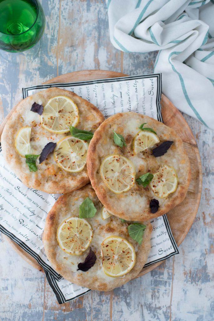 Pizzette cotte in padella