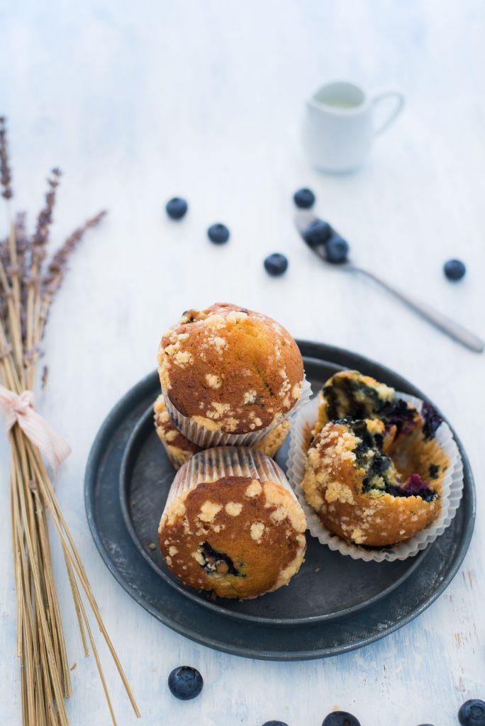 Muffin farro e mirtilli