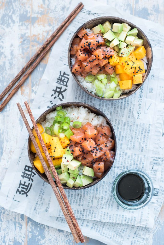 Poké bowl ricetta semplice